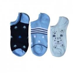 chaussette invisible enfant, socquette garçon, socquette invisible avec motifs, socquette garçon avec motifs.